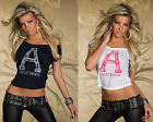 TOP SEXY HAUT T-SHIRT FEMME FASHION CALIFORNIA T.S/M ou M/L