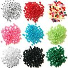 4mm Pearl Plastic Beads  19 Colours