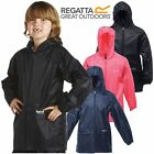REGATTA CHILDRENS WATERPROOF JACKET STORMBREAK KIDS BOYS GIRLS CHILDS RAIN COAT