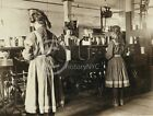 1909 SPOOL GIRLS COTTON MILL BIBB MACON GA PHOTO CHILD LABOR LEWIS HINE