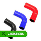 90mm - Silicone Hose 90 Degree Elbow - Silicone Bend Corner Coupler Pipe Rubber