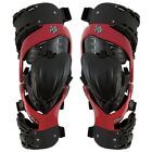 NEW ASTERISK CELL KNEE BRACES RED GUARDS PAIR MOTOCROSS MX ENDURO QUAD CHEAP BMX