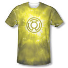 Green Lantern Yellow Ring Energy Corp Sublimation ALL OVER Vintage T-shirt top