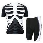 Shinky Men's Sports Outdoor Short Sleeve Cycling jersey + Padded Short Pants
