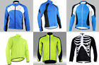 NEW Winter Warm 6Style Men's Sports Long Sleeve Cycling Comfy jersey