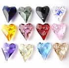 Swarovski Wild Heart 6240 Pendant 12mm 17mm 27mm Choose Size and Colour