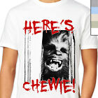 HERE'S CHEWIE T-Shirt. Starwars & The Shining Funny Mashup. Chewbacca, Cult Film