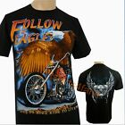 American Eagle Motorbike Motorcycle Biker T Shirt New