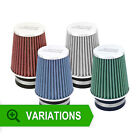 New ASH UNIVERSAL AIR FILTER 90mm NECK INDUCTION INTAKE CONE