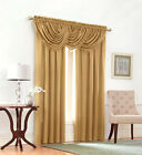 Solid Tailored Window Curtain Treatments By GoodGram¨ - Assorted Colors & Sizes