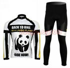 2014 New Cycling Bike Bicycle Clothing Men Suit Long Sleeve Jersey + Pants M-3XL