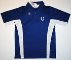 NFL Indianapolis Colts Field Classic Sideline Navy Performance Golf Polo Shirt on eBay