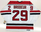 MARTIN BRODEUR NEW JERSEY DEVILS 1991 NHL 75TH PATCH CCM VINTAGE JERSEY NEW