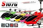 SYMA S107G INFRARED REMOTE CONTROL MOTION SENSOR GYRO INDOOR HELICOPTER 3CHANNEL