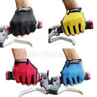 New Cycling Bike Bicycle Ultra-breathable Shockproof Sports Half Finger Glove
