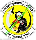 STICKER USAF 48TH AEF FIGHTER WING