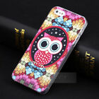 Hot Colorful OWL Hard Back Shell Cover Case Skin for iPhone 5 5G 5S &5C& 4 4G 4S