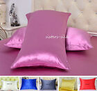 1 PC 40MM 100% HEAVY WEIGHT SILK PILLOWCASE SIDE ZIPPER CLOSURE STYLE ALL SIZE