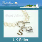 Personalised White Freshwater Pearl Bracelet, Ideal Gifts, for all ages