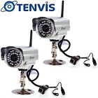 TENViS Wireless Wifi Network CCTV IP Camera Outdoor Waterproof Security Monitor