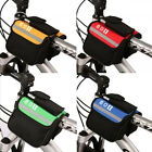 Bicycle Mountain MTB Bike Frame Front Tube Handlebar Pannier Saddle Bag Pouch
