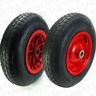 LARGE 400mm NEEDLE/BALL BEARING SPARE WHEEL Wheelbarrow Sack Truck Trolley 180kg