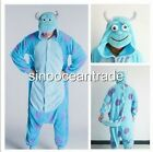 James P. Sullivan Monster Adult Kigurumi Pajamas Anime Cosplay Costume Dress