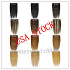 USA STOCK !20inch remy human hair clip In Extensions 8pcs,100g 3-5 days delivery