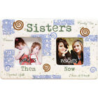 Sisters  Memories Then and Now Ceramic Double Frames 60018