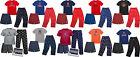 MLB Youth T-Shirt Boxer & Pant 3 Piece Sleep Set I White Sox, Reds, Mets, Cubs