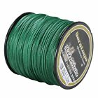 Super Strong  8Strands Braided Dyneema Sea Fishing Line Agepoch 100M Moss Green