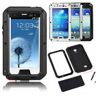 GORILLA GLASS SHOCK WATERPROOF ALUMINUM METAL CASE FOR SAMSUNG GALAXY S3 I9300