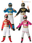 Child Licensed Power Rangers Party Outfit Fancy Dress Costume + Mask Boys Girls