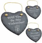 Personalised Engraved Slate Valentine Gifts
