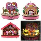 2013 SANRIO HELLO KITTY& DEAR DANIEL MELODY SANRIO WOODEN MUSICAL BOX