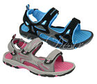 Womans Ladies Dunlop Sandals Casual Comfort Velcro Footbed Walking Shoes 7SD