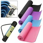 Yoga Exercise Fitness Workout Thick Mat Pilates Gym Festivals Camping Non Slip