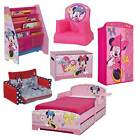 Choose from Girls Minnie Mouse Pink Bedroom Furniture,Bed,Toy Box,Bookcase NEW