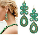 Occident style Fashion female flower earrings 2 colour