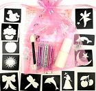 GLITTER TATTOO MINI KIT for girls or boys or themed or unisex UNIQUE PARTY BAGS