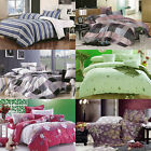 Clearance Sale  Queen/King Size Bed Quilt/Doona/Duvet Cover Set New 100% Cotton