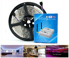 1M - 5M RGB 12V 5050 LED STRIP LIGHT TAPE + WIFI CONTROLLER - IPHONE ANDROID