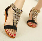 CASUAL WOMENS LADIES STRAPPY LOW HEEL WEDGE SANDALS UK 2-7
