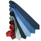 New PREMIER Mens Smart Formal Evening Classic Woven Silk Neck Tie in 7 Colours