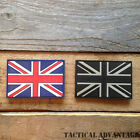 Union Jack British Flag 3D Rubber Morale Badge Kit Patch Airsoft Army Velcro UK