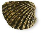 Gold beach house SHELL CONCH Knob kitchen bath Hardware Cabinet Pulls SEA SHORE
