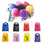 8 Colors Rose Reusable Folding Shopping Bag WW Fashion HOT STYLE