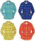 Aeropostale Womens Long Sleeve Plaid Adrienne Woven Button Down Shirt Top Sz XXL