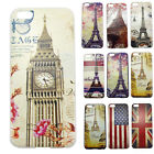 10 Styles Color Retro Hard Snap-On Plastic Skin Case Cover for Apple iPhone 5C