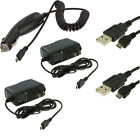 Car Charger+2X Wall Travel Charger+2X USB Data Cable Accessories for Cell Phones